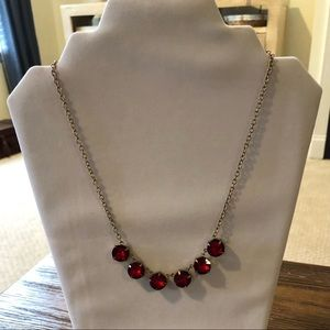Beautiful red stone necklace!